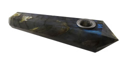 Khaleesi - Labradorite Crystal Pipe