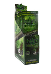 Juicy Jay Hemp Wraps 2x, 25 packs per box – Natural