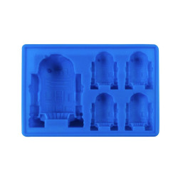 Dope Molds Silicone Gummy Mold - 6 Cavity Blue R2D2