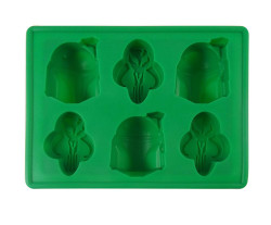 Dope Molds Silicone Gummy Mold - 6 Cavity Green Boba Fett