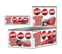 Trailer Park Boys Rolling Papers Box of 50 - Christmas Series