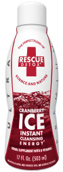 Rescue Detox Ice 17oz – Cranberry
