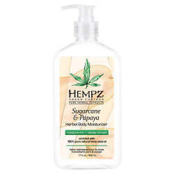 Hempz Herbal Body Moisturizer - Sugarcane & Papaya 17oz
