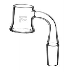 Pulsar Glass Flat Top Quartz Banger - 90° 14mm Male