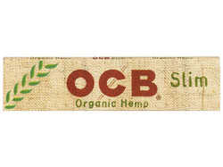 OCB Organic Hemp King Size Slim, 50 packs per box