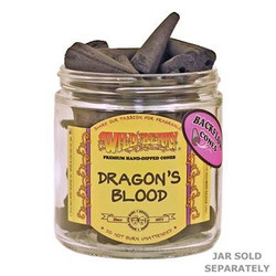 Wild Berry Back-Flow Incense Cones Pack of 25 - Dragon's Blood
