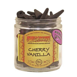 Wild Berry Back-Flow Incense Cones Pack of 25 - Cherry Vanilla