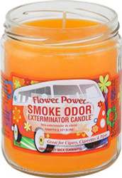 Smoke Odor 13oz. Candle - Flower Power