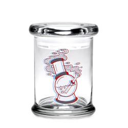 420 Science Pop Top Jar Medium - 3D Water Pipe