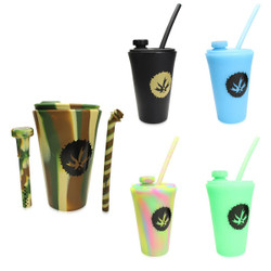 Piece Maker - Kommuter with Silipint - Silicone Drink Cup Topper w/ Cup
