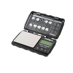 Truweigh - Tuff-Weigh - Digital Mini Scale w/ Hard Shell Case 1000g x 0.1g – Black