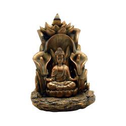 "5.5"" x 5"" Buddha Backflow Incense Burner"