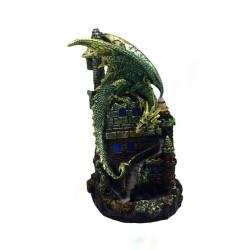 Green Dragon Backflow Incense Burner