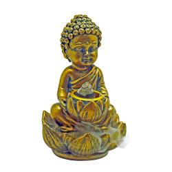 Small Backflow Incense Burner - Baby Buddha