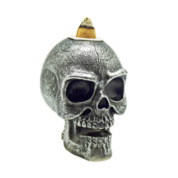 Small Backflow Incense Burner – Skull
