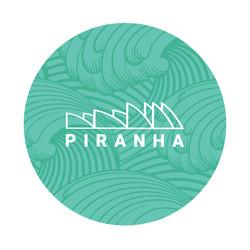 """DabPadz 5"""" Round Fabric Top 1/4"""" Thick - Piranha"""