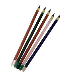 """6.5"""" Glass Pencil Dabber - Assorted Colours"""