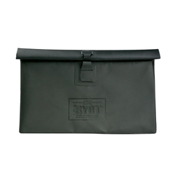 RYOT Flat Pack with Removable Smellsafe Carbon Liner in Black w/ Ryot Lock - Medium