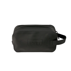 RYOT Dopp Tote Bag with Removable Smellsafe Carbon Liner in Black w/ Ryot Lock