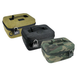 RYOT Safe Case Carbon Series w/ SmellSafe & Lockable Technology w/ Lock - Large 4.0L
