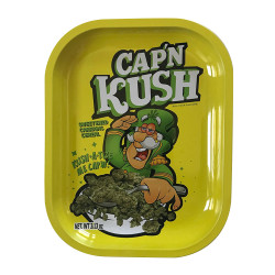 "Kill Your Culture Rolling Tray - 5.5"" x 7"" - Cap N' Kush"