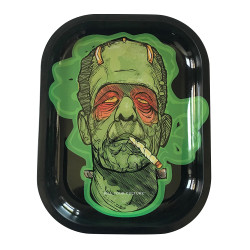"Kill Your Culture Rolling Tray - 5.5"" x 7"" - Frankenstoned"