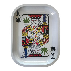 """Kill Your Culture Rolling Tray - 5.5"""" x 7"""" - King of Concentrates"""