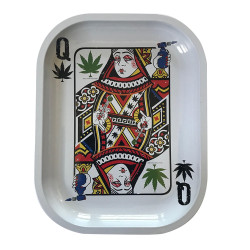 "Kill Your Culture Rolling Tray - 5.5"" x 7"" - Queen of Concentrates"