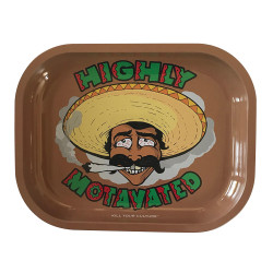 """Kill Your Culture Rolling Tray - 5.5"""" x 7"""" -  Highly Motavated"""