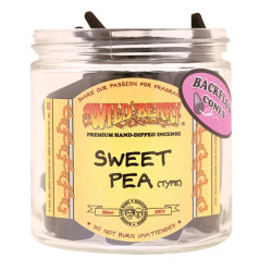 Wild Berry Back-Flow Incense Cones Pack of 25 - Sweet Pea