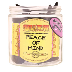 Wild Berry Back-Flow Incense Cones Pack of 25 - Peace of Mind