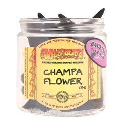Wild Berry Back-Flow Incense Cones Pack of 25 - Champa Flower