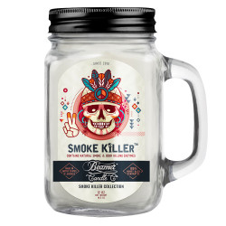 Beamer Candle Co. 12oz Glass Mason Jar - Smoke Killer