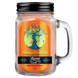 Beamer Candle Co. 12oz Glass Mason Jar - Michigan Peach Tree