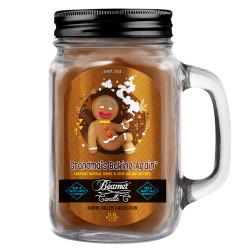 Beamer Candle Co. 12oz Glass Mason Jar - Grandma's Baking Again