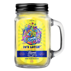 Beamer Candle Co. 12oz Glass Mason Jar - 70's Lovin