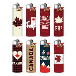 Bic Classic w/ Sleeve - Canadiana Print