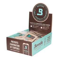 125 Individually Wrapped 4g Boveda 62% Pack