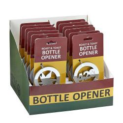 Roast & Toast Metal Bottle Opener Display