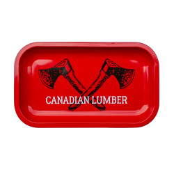 Big Red Canadian Lumber Rolling Tray