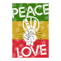 Peace & Love Tapestry