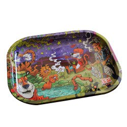 Dunkees King of Tigers Rolling Tray