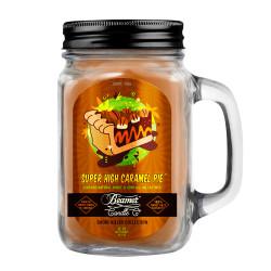Super High Caramel Pie Beamer Candle