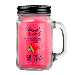 Red F*#kin' Melon Pop Beamer Candle