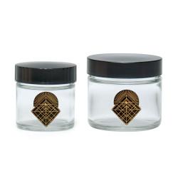 420 Diamond Intersect Screw Top Jars