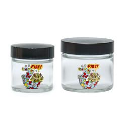 420 Killer Acid - Fire Bud Screw Top Jars