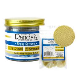 """.5"""" Randy's Brass Screen Jar"""