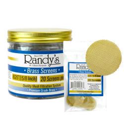 """.625"""" Randy's Brass Screen Jar"""