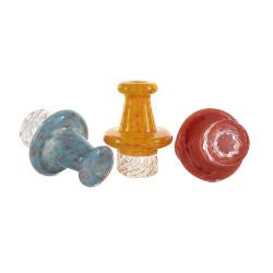 Colour Frit Helix Carb Cap