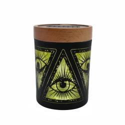 Illuminati Yellow SmartStash Jar